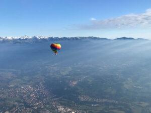 Volo in mongolfiera in Piemonte